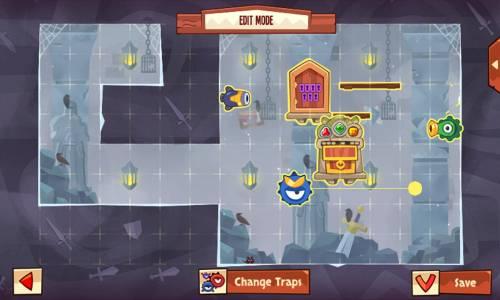 Подземелье King of Thieves базы #21 — расстановка #5509