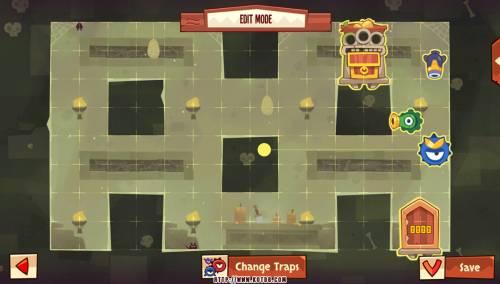 Подземелье King of Thieves базы #27 — расстановка #3057