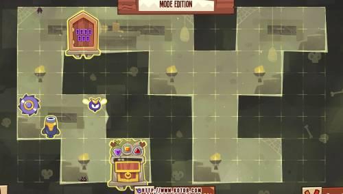 Подземелье King of Thieves базы #41 — расстановка #983
