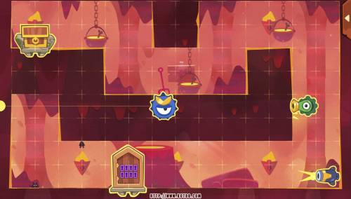 Подземелье King of Thieves базы #49 — расстановка #1010