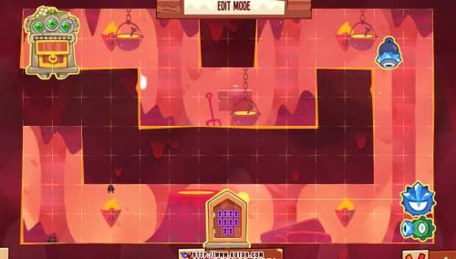 Подземелье King of Thieves базы #49 — расстановка #1120
