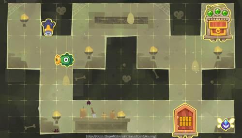 Подземелье King of Thieves базы #6 — расстановка #594