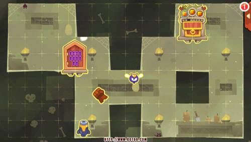 Подземелье King of Thieves базы #77 — расстановка #3532