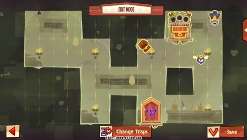 Подземелье King of Thieves базы #77 — расстановка #4116