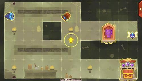 Подземелье King of Thieves базы #78 — расстановка #4486