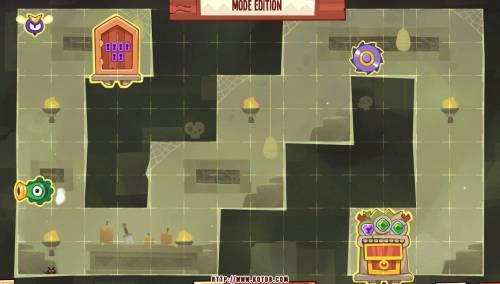Подземелье King of Thieves базы #8 — расстановка #1091