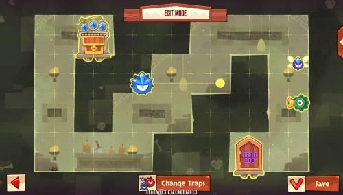 Подземелье King of Thieves базы #8 — расстановка #3613