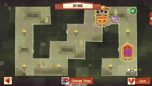 Подземелье King of Thieves базы #8 — расстановка #3875