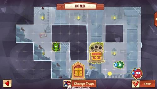 Подземелье King of Thieves базы #87 — расстановка #4688