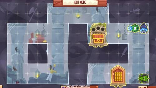 Подземелье King of Thieves базы #88 — расстановка #4522