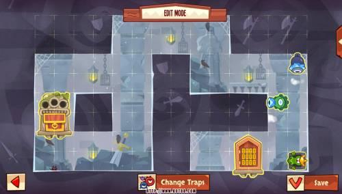 Подземелье King of Thieves базы #88 — расстановка #4557