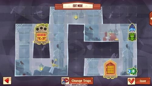 Подземелье King of Thieves базы #88 — расстановка #4561