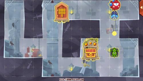 Подземелье King of Thieves базы #92 — расстановка #4799