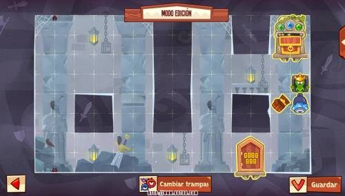 Подземелье King of Thieves базы #93 — расстановка #4844