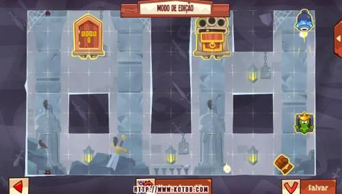 Подземелье King of Thieves базы #93 — расстановка #4863