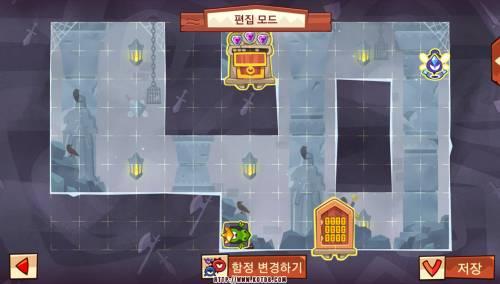 Подземелье King of Thieves базы #94 — расстановка #4576
