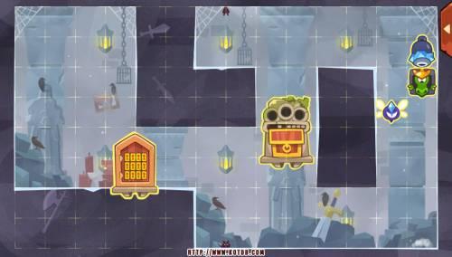 Подземелье King of Thieves базы #94 — расстановка #4663