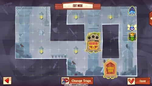Подземелье King of Thieves базы #94 — расстановка #4666