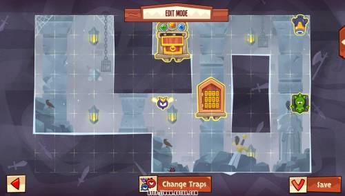 Подземелье King of Thieves базы #94 — расстановка #4671
