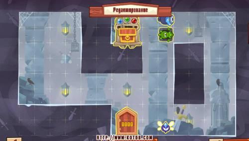 Подземелье King of Thieves базы #94 — расстановка #4828