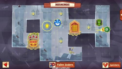 Подземелье King of Thieves базы #96 — расстановка #4608