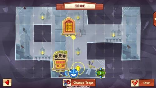 Подземелье King of Thieves базы #96 — расстановка #4632