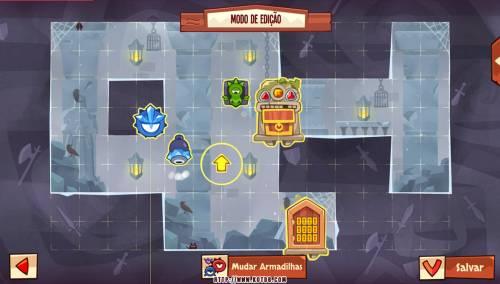 Подземелье King of Thieves базы #96 — расстановка #4635