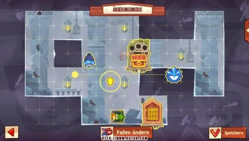 Подземелье King of Thieves базы #96 — расстановка #4870