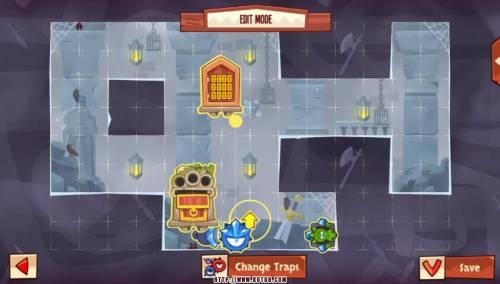 Подземелье King of Thieves базы #96 — расстановка #4871