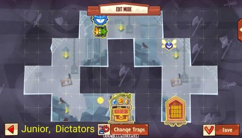 Подземелье King of Thieves базы #97 — расстановка #4586