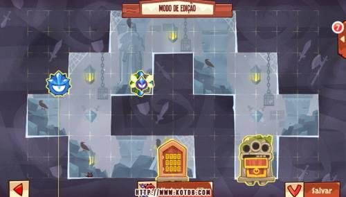 Подземелье King of Thieves базы #97 — расстановка #4893