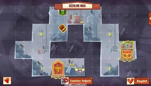 Подземелье King of Thieves базы #97 — расстановка #4992